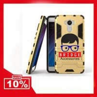Murah! Case Xiaomi Redmi 4 Ironman ( Armor Shield ) Ser Berkualitas