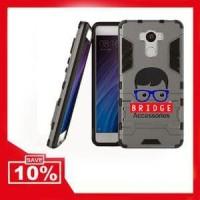 Murah! Case Xiaomi Redmi 4 Prime  Ironman ( Armor Shiel Berkualitas