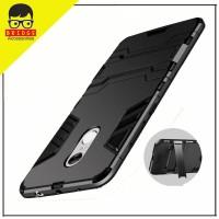 Bridgeacc! Case Xiaomi Redmi Note 4 Ironman / Armor Shi Berkualitas