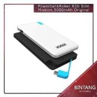 Murah Meriah Powerbank Power Bank Roker R50 Slim Missio Berkualitas