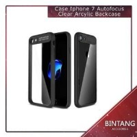 Murah Meriah Case Iphone 7 Autofocus Clear Arcylic Back Limited