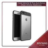 Murah Meriah Case Iphone 8 Autofocus Clear Arcylic Back Berkualitas