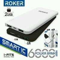 Murah Meriah Powerbank Power Bank Roker Slim IFIT60 600 Berkualitas