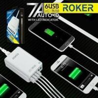 Murah Meriah Charger Adapter 6 Port USB Roker Six Sense Murah