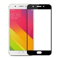 Murah Meriah Tempered Glass warna Oppo F1S A59 Full Cov Berkualitas