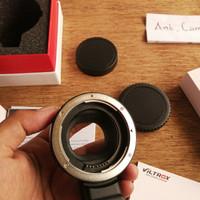 lensa fix yongnuo 50mm f1.8 bonus adapter mirrorles canon eos M 2 3 5