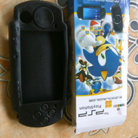 SILICONE SILIKON KONDOM SOFT CASE PSP SLIM 2000/ 3000 sale cuci Gudang