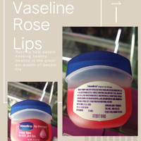 Rose Lips Vaseline lip therapy Mini the vaseline petroleum jelly ori
