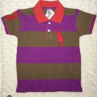 Kaos anak berkerah MUSPO tersedia size 1, 2, & 3 | kaos anak cowo