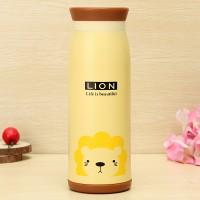 Termos Air Animal karakter 500ml - Botol Minum (02 Lion)