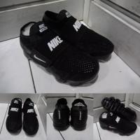 Sepatu Anak Nike Vapormax Moc Slip On Kids Black White Hitam Putih