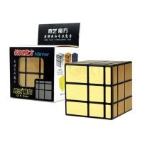 Rubik Mirror 3x3 - Qiyi Mirror Black Gold
