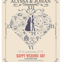 jam wedding - kado w-180