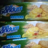 biskuit inti gandum honey bananai