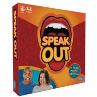 Mainan keluarga seru board games - speak out games