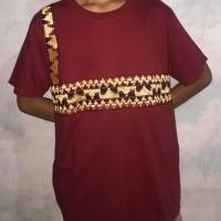 Baju Tapis Lampung Pria Kaos Tapis Asli WIKHO