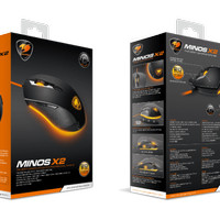 Cougar Gaming Mouse Minos X2 - Omron Gaming Switches