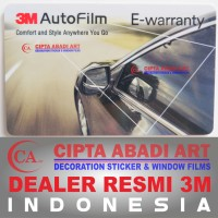 Kaca Film Mobil Ori 3M Crystalline + Black Beauty Large Car ( Bahan )