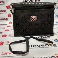 tas kecil dompet tali selempang cewek perempuan wanita murah hitam