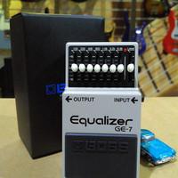Boss GE-7 Graphic Equalizer, Efek Gitar