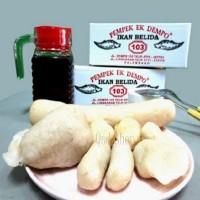 Pempek Ikan Belida Ek Dempo Isi 100 Pcs dan Paket D Besar