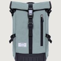 Tas Ransel Gulung Laptop 15 Backpack - Esgotado Mochilo Quarto Grey
