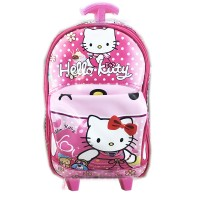 Tas Troley Sekolah TK Hello Kitty 3D On The Road Tas Mobil