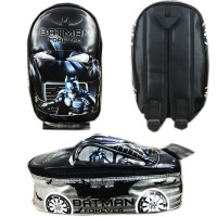 Tas Ransel Sekolah TK Batman 3D On The Road Tas Mobil