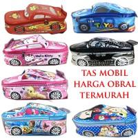 Tas Mobil TK Batman Frozen Pony Hello Kitty Tayo Cars Tsum Tsum