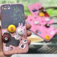 softcase VIVO Y69 Y 69 2017 Lucu 3D Silicone soft case cover casing