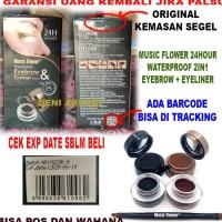 Music Flower - 24 hours Waterproof 2 in 1 Eyebrow & Eyeliner Original