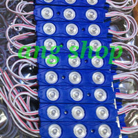 Advertising Led Modul 5630 3 Led 5630 3 Mata + Lensa Type 8218 100 Pcs