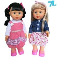mainan anak cewek boneka Melinda walking doll Susan Anisa lovely baby