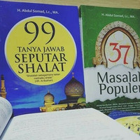 paket buku 37 masalah populer + 99 tanya jawab seputar shalat