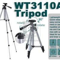 WEIFENG WT-3110A Portable Universal Tripod + U-Holder + bag