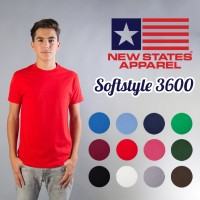 KAOS New States softstyle COLOR, SIZE S - XL)