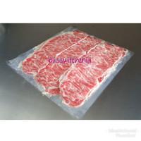 Daging Sapi Kazoku Striploin Meltique Wagyu Beef Slice Yakiniku 250gr