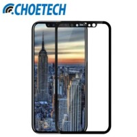 APPLE IPHONE X TEMPERED GLASS CHOETECH 3D CURVED CARBON FIBER SOFT