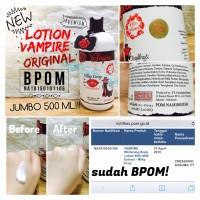 500ml BPOM Lotion Vampire Jumbo milky drop white lotion original