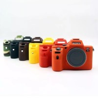 Sony A7 II A7II A7R Mark 2 Silicone Camera Case Protective Body Cover