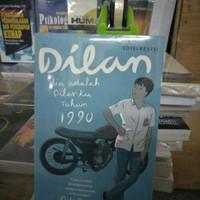 buku novel dilan 1990 ori