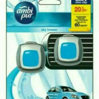 ambipur mini vent clip 2in1 aroma *skybreeze*