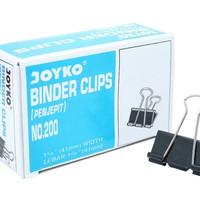 Binder Clip JOYKO 200 - 41 mm Width ( 12 Pcs )