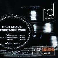 NI80 AWG 28 32 34 36 SWEDEN BY SANDVIK HIGH QUALITY NICHROME - 28
