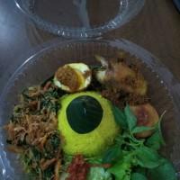 Nasi Tumpeng Kuning Mini 4 Lauk