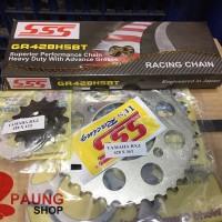 Gear Set SSS 428/120L HSBT Rx King/Fiz R/Jupiter Z/Vega/MX 36T - 40T