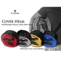 Tas Helm Motor Fun Cover Helm Sarung Helm RainCoat Cover Tas Anti Air