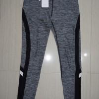 Legging X by Gottex Mesh Senam/Gym/Running Black/Grey ORIGINAL