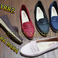 jelly shoes bara bara separu wanita flat shoes karet import 1882