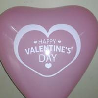 Balon love pink 12 inci